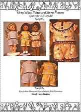Ginny's Easy Blouse and Shorts  Sewing Pattern  ~ Simply Grace Designs