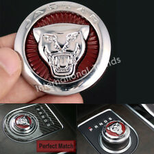 New 42mm Gear Shift Knob Shifter Center Emblem Cover for XJ XE XF F-Pace