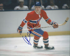 GFA Montreal Canadiens * JACQUES LEMAIRE * Signed 8x10 Photo AD1 COA