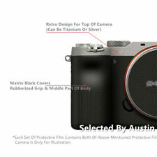 Retro Lens Decal Sticker For SONY A7C Protector Anti-scratch Coat Wrap Film