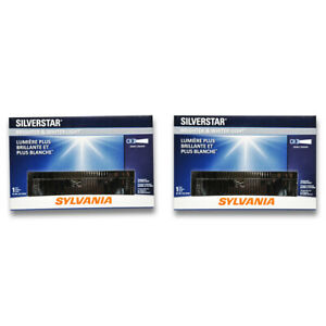 Sylvania SilverStar Low Beam Headlight Bulb for Chevrolet C20 K20 R10 bt
