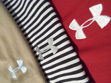 Lot of 3 Under Armour Men's Shirt Size Large Moisture Wicking Golf Polo Top