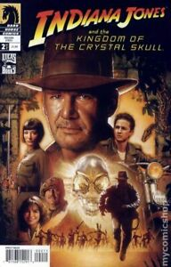 Indiana Jones and the Kingdom of the Crystal Skull #2B VG 2008 Stock Image
