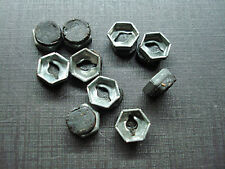 """10 pcs NORS 1/8"""" emblem name plate letter nuts with mastic sealer fits Ford"""