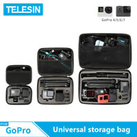TELESIN Mini S M Universal Storage Carry Bag Case Box For GoPro DJI Osmo Action