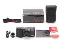 ◉MINT IN BOX◉ RICOH GR1S POINT&SHOOT 35MM FILM CAMERA BLACK BODY BY FEDEX