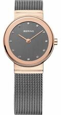 Bering reloj de pulsera señora 10126-369 Rose 'oro gris cristales Swarovski
