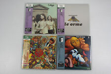 LE ORME ~ JAPAN MINI LP SHM-CD SET OF 4 ALBUMS, ORIGINAL, RARE, OOP