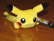 Awake PIKACHU Pokemon Center Poke Plush Kuttari Cutie bean bag doll NEW