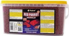 Original TROPICAL RED PARROT FISH FOOD GRANULES CICHLID FOOD (3l/1,2kg Bucket)