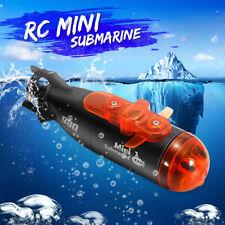 � Remote Control Mini Rc Submarine Ship Micro Radio Boat Led Light Toy Gift Us �