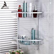 Bathroom Shelves Metal Wall Mounted Shower Corner Shelf Washing Cosmetic Basket