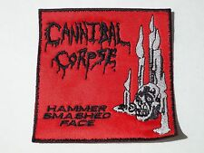 CANNIBAL CORPSE HAMMER SMASHED FACE EMBROIDERED PATCH