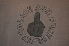 Ween Chocolate & Cheese Middle Finger Rock Band Soft Thin XL T-Shirt USA VTG 90s
