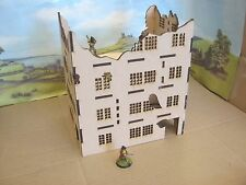 28mm Large Wargame Ruins set A Factory  House Scenery Buildings Bolt Action 40K