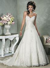 Maggie Sottero Wedding Dress Benecia Size 4 Ivory NWT