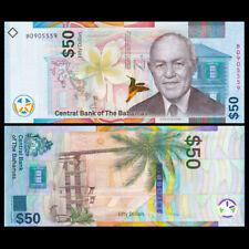 Bahamas 50 Dollars, 2019, P-NEW, New Design Hybrid, UNC