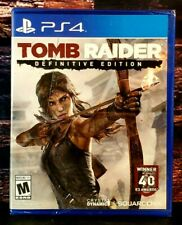 Tomb Raider: Definitive Edition - Ps4 - Sony PlayStation 4 - Brand New - Sealed