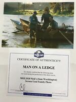 Man On A Ledge Nicks (Sam Worthington) Screen Used Family Photo Movie Prop w/CoA