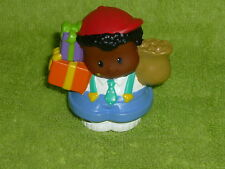 Fisher Price Little People Birthday Black Boy Michael Presents Gifts New