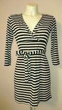 Per Una V Neck 3/4 Sleeve Stretch, Bodycon Dresses for Women