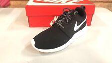 Nike Womens Roshe One Running Shoes 6 B(M) US)(Black/White/Dark Grey)
