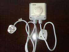 13 Amp 3 kW Radiateur Thermostat, Grow Room/Tente/Serre/Caravane Stat