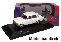 Moskwitsch 408 in Weiß Bj 1968 1:43 IXO / IST 102 Cars & Co NEU & OVP