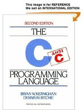 The C Programming Language, 2nd Edition - Int' Edition PaperBack