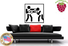 Wall Stickers Vinyl Decal Box Boxing Gloves Martial Arts Sport   Wall Art  z006