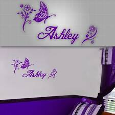 """Personalized Girls Name Decal, Girls Room Sticker, Girls Room Decor - 40"""" x 22"""""""