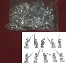 Old Glory AWI-49 Black Troops in Bicorne (30) 25mm Miniatures Infantry Advancing