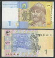 UKRAINE 2011 1 Hryvnia Cat # P-NEW UNCIRCULATED
