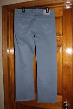 AG Adriano Goldschmied The Protege Straight Leg Oceanic Blue Pants, 32 x 31