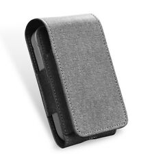 Leather Wallet iQOS Case Electronic Cigarette Kit Pouch Bag for iQOS GREY