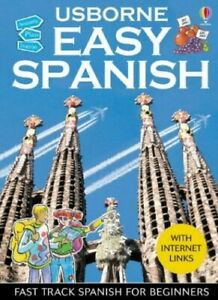 Easy Spanish (Usborne Easy Languages) by Irving, Nicole Paperback Book The Cheap
