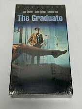 Sealed - The Graduate - Anne Bancroft, Dustin Hoffman (Vhs) Classic New