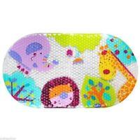 KIDS SAFARI PVC NON SLIP BATH MAT BATHTUB MAT CHILD KID SHOWER MAT BRAND NEW