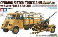 Tamiya German 3.5TON Truck AHN w/3.7cm Flak 37 AA Gun 1:35 Bausatz 32410