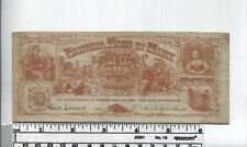 Antique Reward of Merit - Rare Bank Note Type - Currency Vignettes  - 20 Shares
