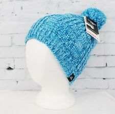 New with Tags O'Neill Womens Serfaus Pom Beanie Artic Blue