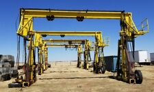 Industrial Hydraulic Gantry Crane 50000 Ton Shipping Container Loadoffload