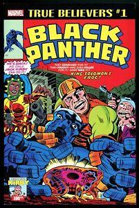 TRUE BELIEVERS Black Panther #1 Tales of Suspense #98 Jack Kirby Art 2017