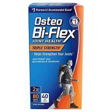 Osteo Bi-flex Joint Health Coated Tablets Triple Strength 80 Capsules