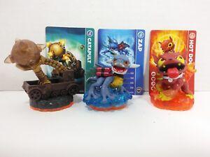 Skylanders Giants-Pack - Scorpion Striker, Zap, Hot Dog ((loose, with card)