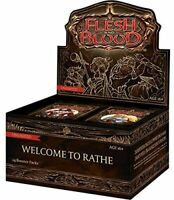 1x Welcome to Rathe Booster Box Unlimited Edition New Flesh and Blood Sealed