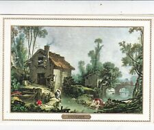 Boucher Unknown Title Greetings Card unused VGC no envelope
