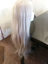 Lace Front VERY long grey wig