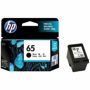 Genuine HP 65 Black N9K02AA Ink Cartridge 2620 2622 3720 3724 5030 5034 120 125