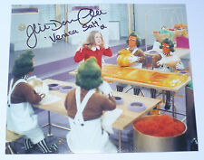 Willy Wonka and the Chocolate Factory SIGNED Film Photo - Julie Dawn Cole
